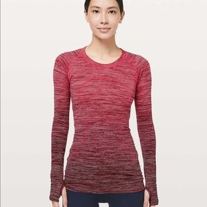 Swiftly Long Sleeve - Red Alert size 4